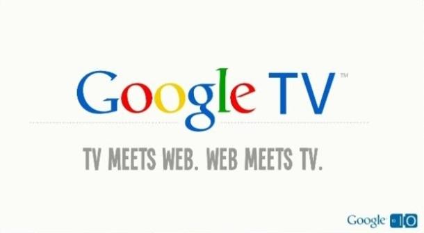 Google TV, aneb jak televize potkala internet