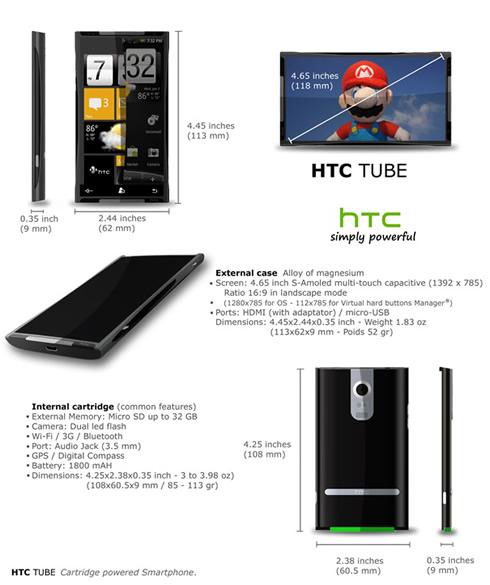 HTC Tube 2