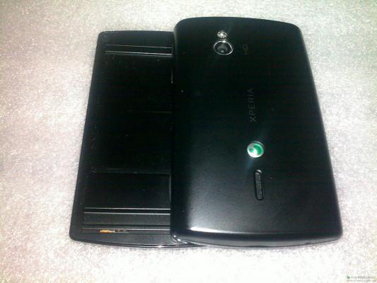 Sony Ericson Xperia Mini Pro zezadu