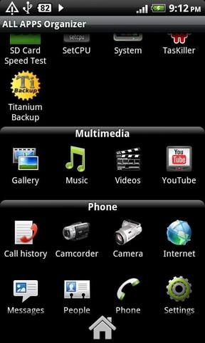 All Apps Organizer Free