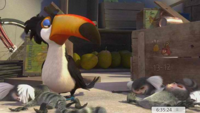 Angry Birds - Nápověda k superbowl levelu