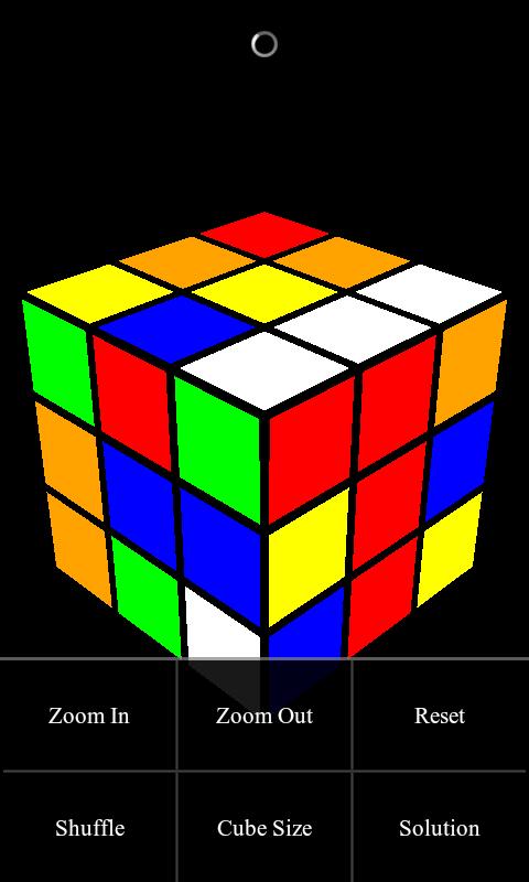 Základní 3x3x3 kostka v SpinCube lite