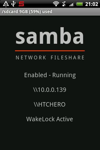 Samba Filesharing