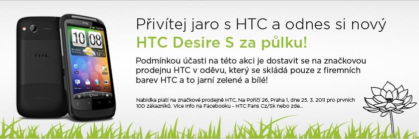 Akce HTC Desire S