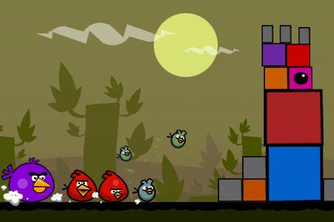 Původní koncept hry Angry Birds