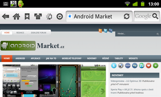 skyfire 3.2.2. screenshot 2 m