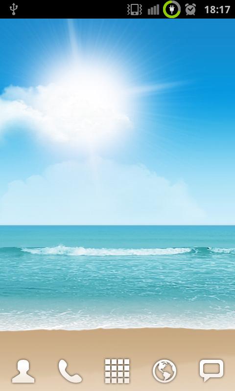 SGSII-Walpaper1-Beach