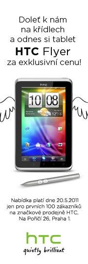 Akce HTC Flyer
