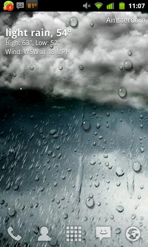 GO Weather Animate WallpaperHD