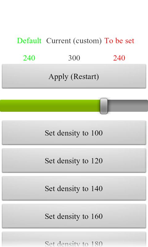 LCDDensity