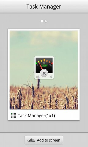 Task Manager GOWidget