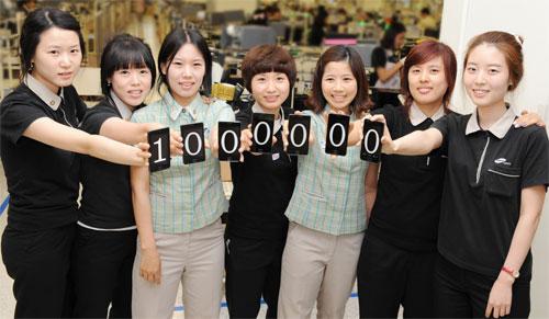 Milion prodaných Samsungu Galaxy S II