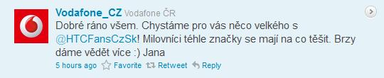 Vodafone tweet