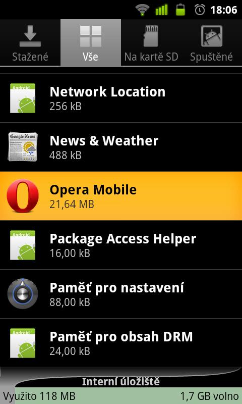 JNT VyberAplikace Jak nainstalovat / přesunout aplikaci na SD kartu (App2SD)