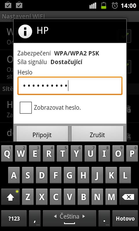 JNT WiFiPripojeni2 Jak se připojit s Androidem k WiFi síti