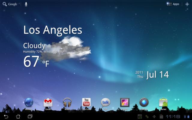 Stáhněte si živé tapety z Samsung Galaxy Tabu 10.1
