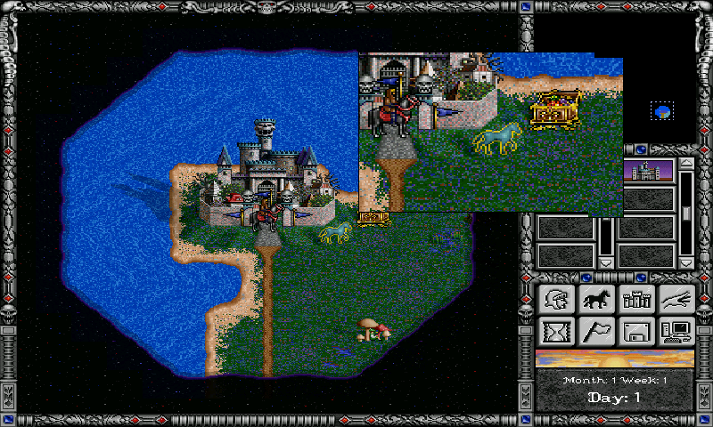 Ukázka ovládání Free Heroes 2.