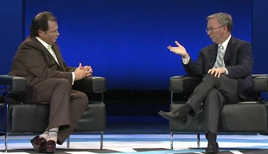 Rozhovor s Ericem Schmidtem