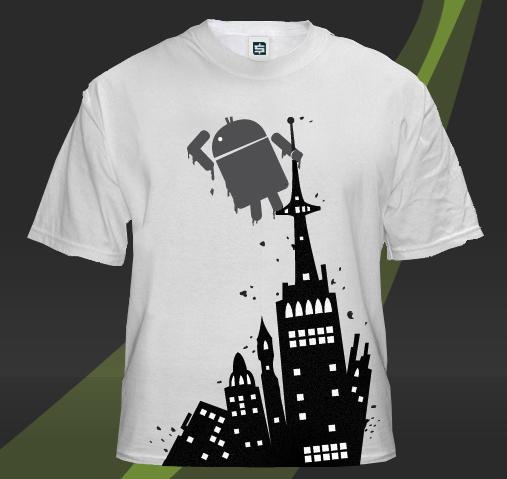 Android na střeše