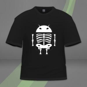 Androskeleton černá varianta