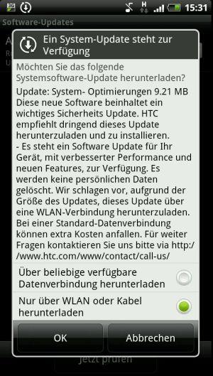 HTC OTA update