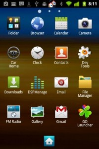 Touchwiz 4 Go Launcher Theme