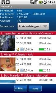 HRS Hotel Portal
