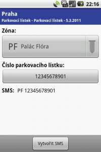SMS ParkovaCzech