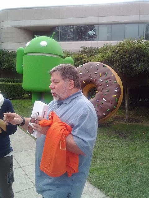 Steve Wozniak s Galaxy Nexusem