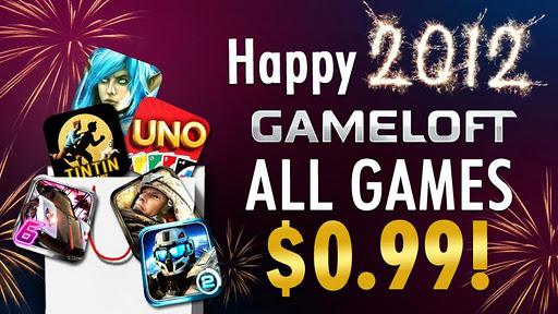Happy New Year - Gameloft