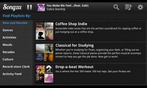 Songza2 300x179 TOP 5 nejlepších aplikací pro tablety   48.týden