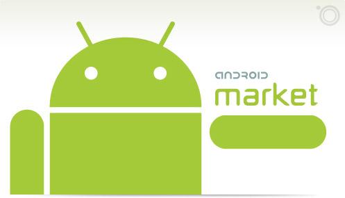 Android market - seznam doporučených her a aplikací