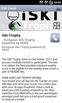iSKI trofeje.