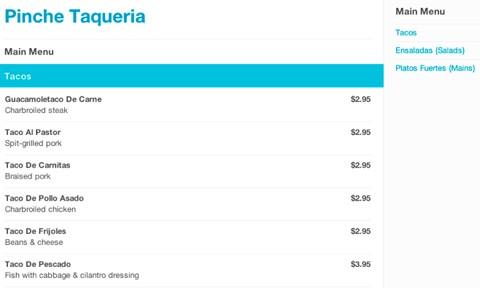 FourSquare 2012.01.18 - lepší GPS lokalizace, jídelní lístky a další