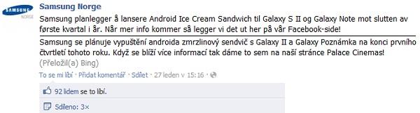 Samsung FB Norway
