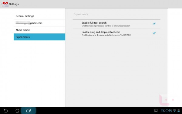 gmail 1 600x375 Google přidává do gmailu v Androidu 4.0.3 experimentální sekci s offline hledáním a drag&drop kontakty