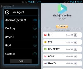 TV v Androidu