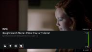 YouTube Google TV