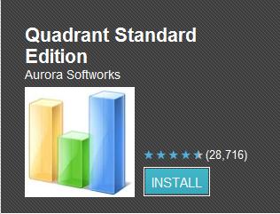 Quadrant aktualizován - nově s podporou vícejádrových procesorů a Ice Cream Sandwiche