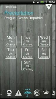 1weather 6 190x335 1Weather   stylová aplikace pro předpověď počasí