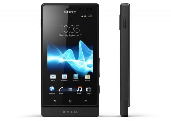 """Sony Xperia Sola s 3,7"""" displejem a revolučním způsobem ovládání"""
