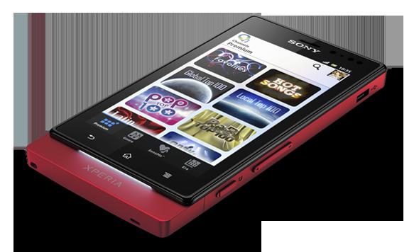 Jak funguje bezdotykové ovládání displeje u Sony Xperia Sola?