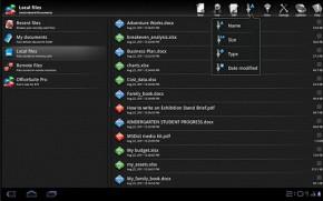 OfficeSuite Pro 5 - verze pro Tablet