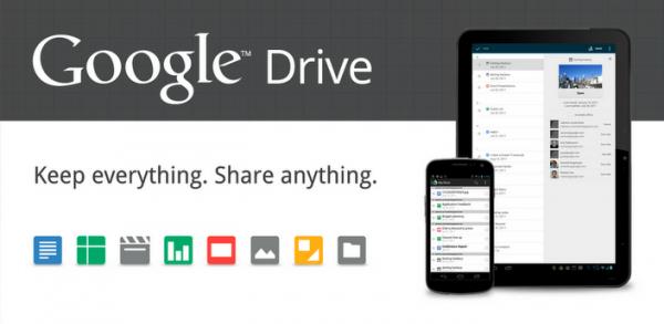 Google spustil své cloudové úložiště Google Drive