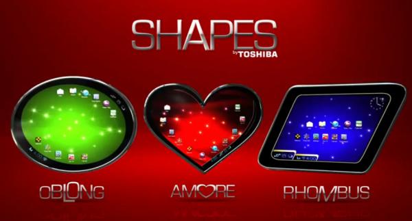 Toshiba představila tablety v neobvyklých tvarech [video]