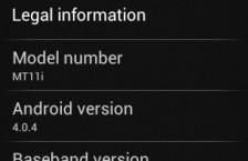 Evropské Sony Ericsson Xperia Acr, Neo, Ray a další dostávají aktualizaci na Android 4.0.4 Ice Cream Sandwich