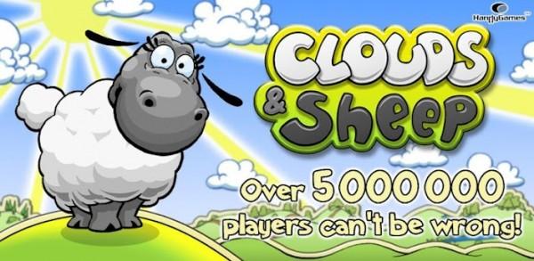 clouds and sheep 600x293 Clouds & Sheep   zábavná hra nejen pro malé