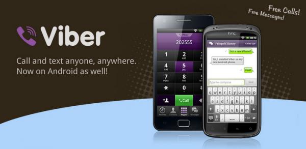 viber header 600x293 Chcete volat zadarmo? Přehled nejoblíbenějších aplikací podporující volání přes internet