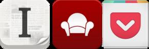 Instapaper, Readability, Pocket