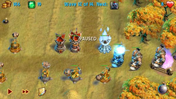 Screenshot 2012 05 29 17 28 39 600x337 Towers N Trolls   povedená tower defense